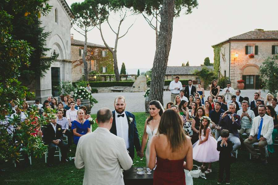 Borgo San Felice Tuscany wedding photographer