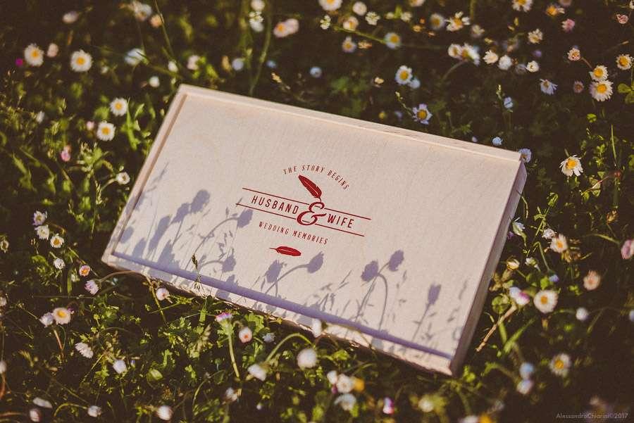 fotolibro matrimonio vintage box legno