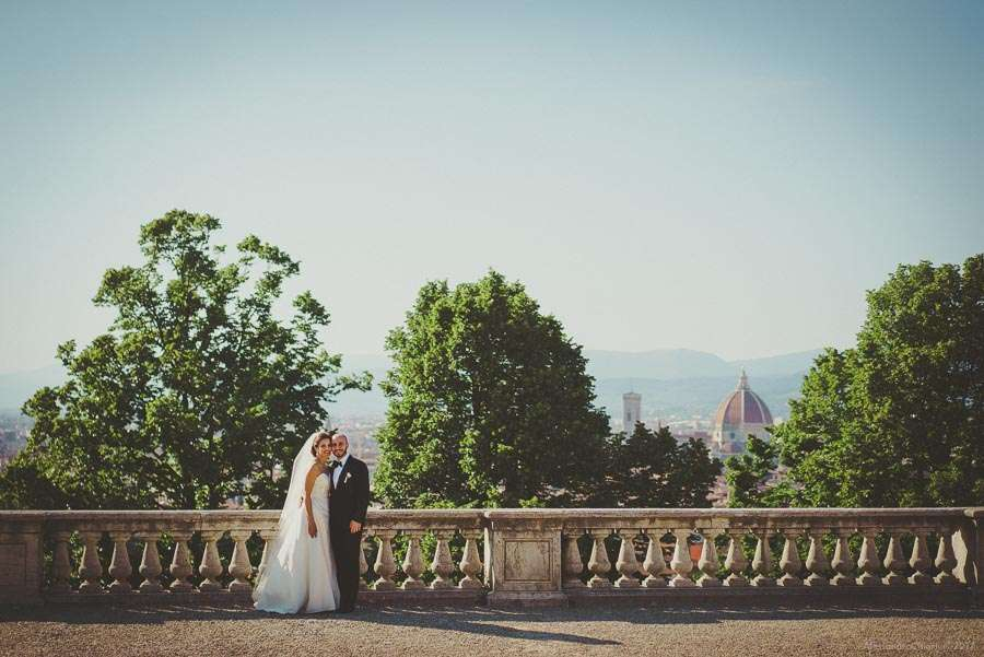Piazzale Michelangelo Florence Italy wedding photography