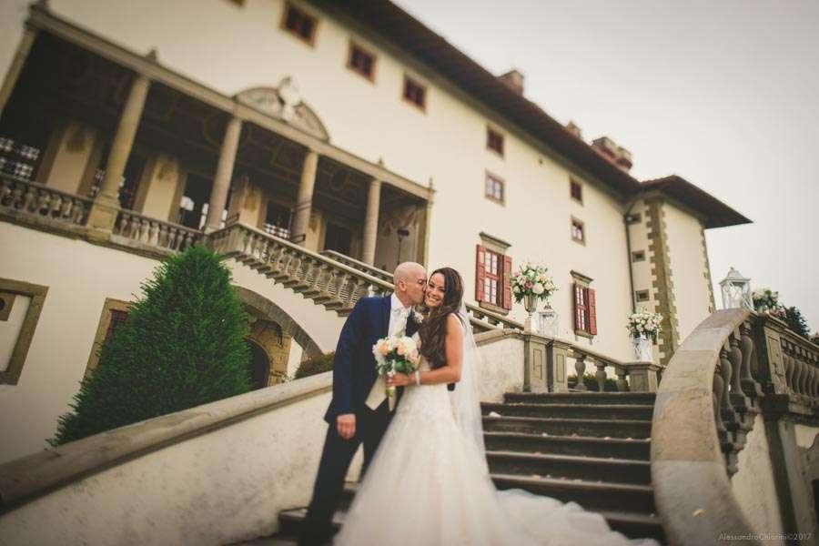 fotografie matrimonio villa Artimino