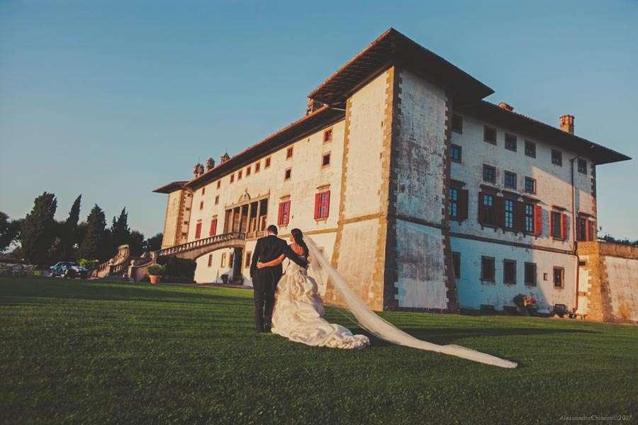fotografo di matrimoni villa Artimino