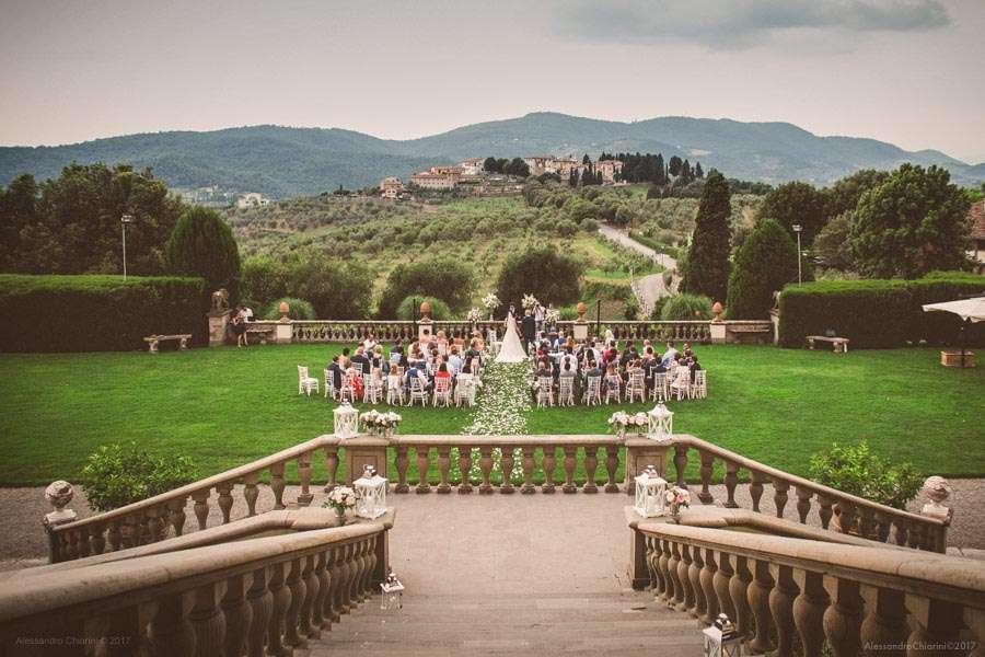 fotografo matrimonio villa Medicea Artimino