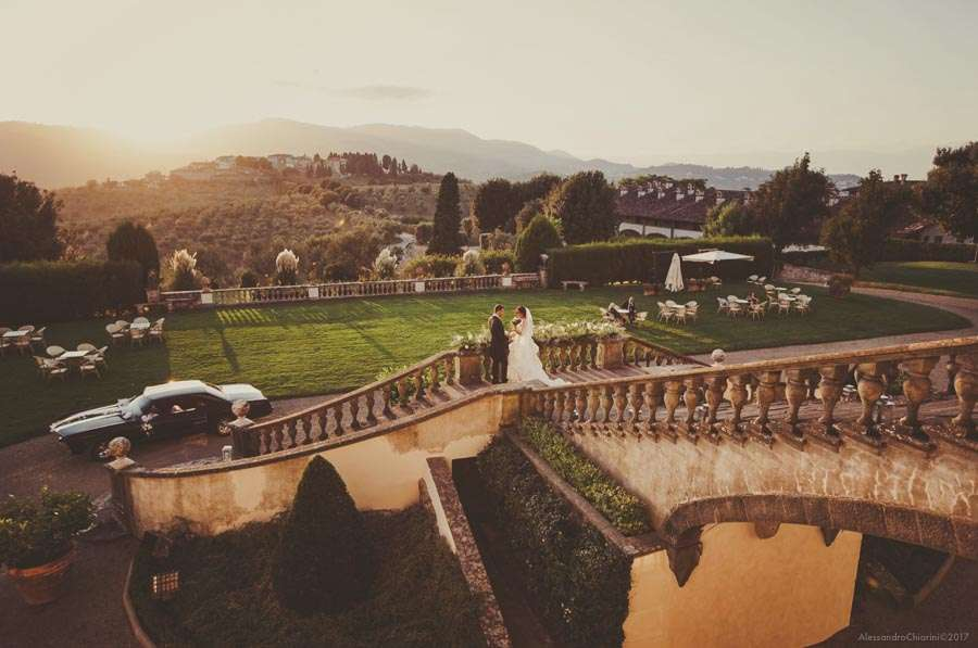 wedding photographer villas Artimino Florence Tuscany