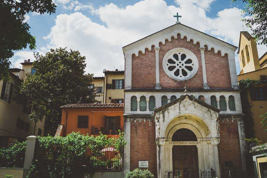 Lutheran Church Florence- Italy wedding photographer