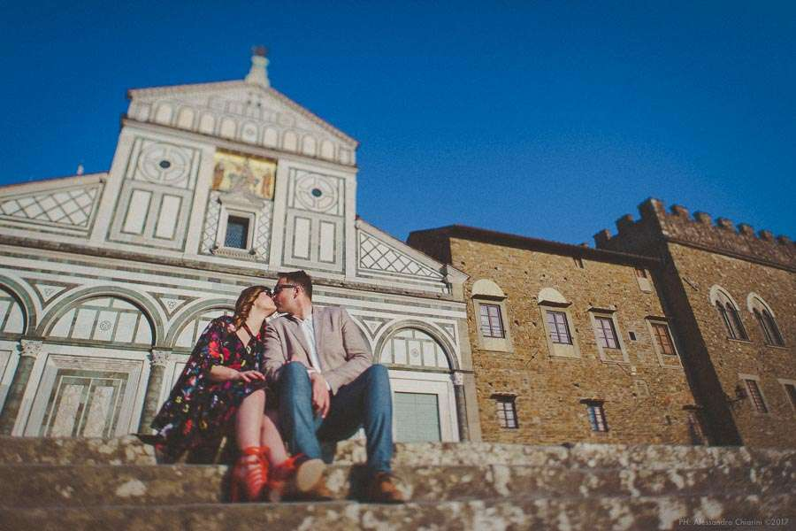 wedding engagement photographer Florence Italy