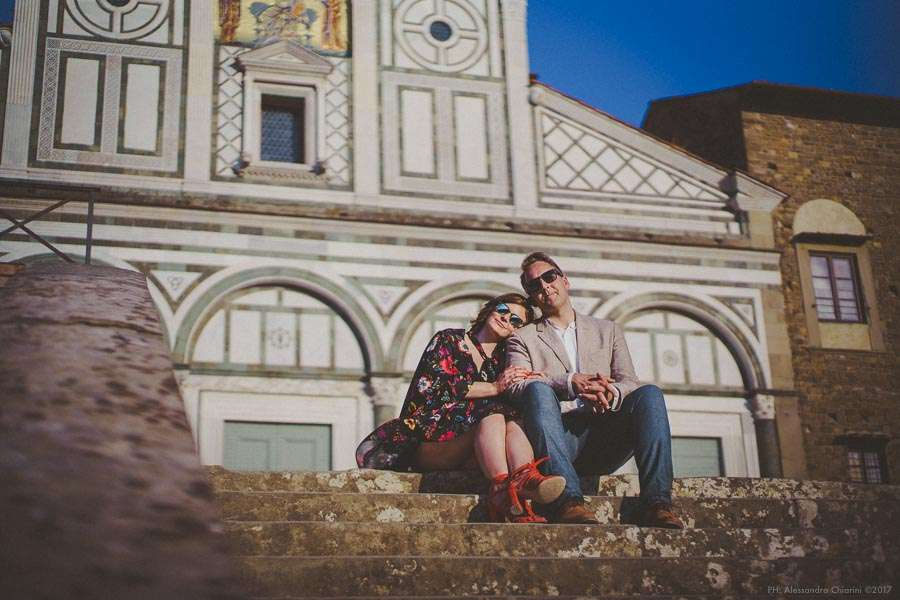 wedding engagement photography Florence Italy
